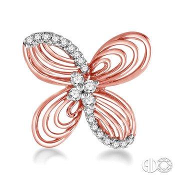 BUTTERFLY DIAMOND EARRINGS