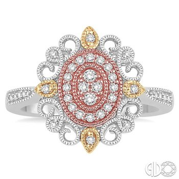FLOWER SHAPE DIAMOND RING