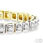 Lovebright Collection Jewelry CLASSIC SQUARE DIAMOND BRACELET