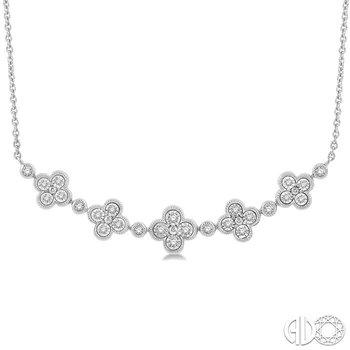 DIAMOND FASHION NECKLACE