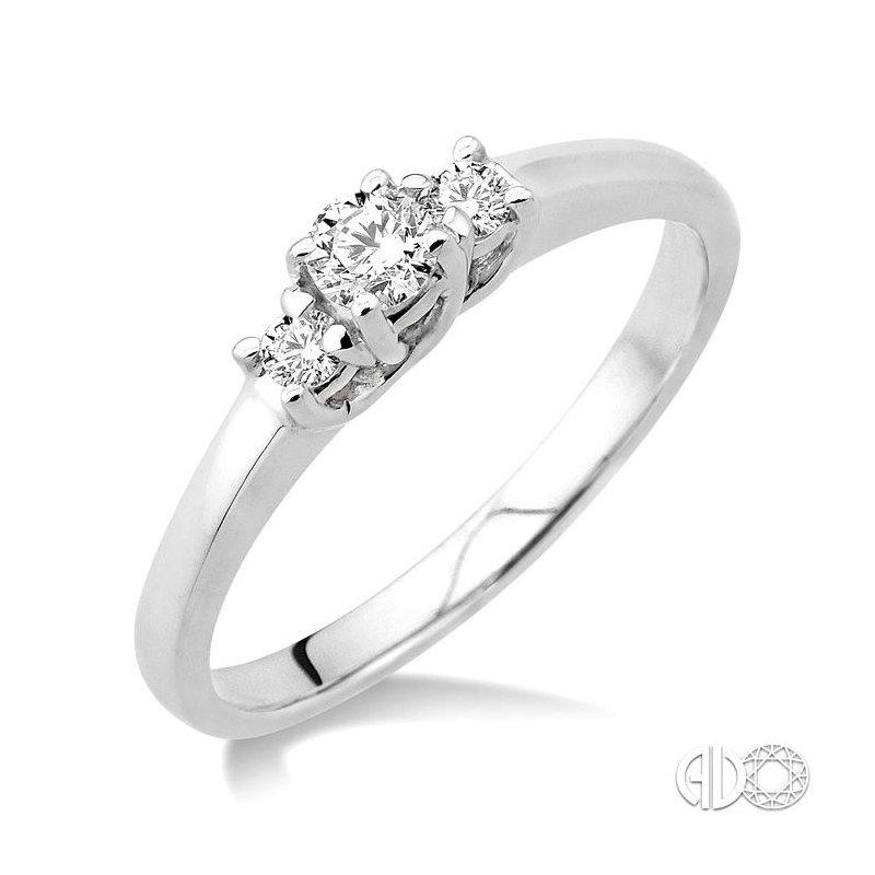 Lovebright Collection Jewelry PAST PRESENT & FUTURE DIAMOND RING