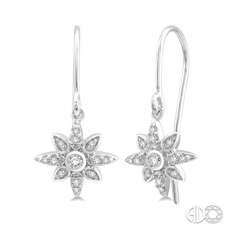 Lovebright Collection Jewelry SUNBURST DIAMOND EARRINGS