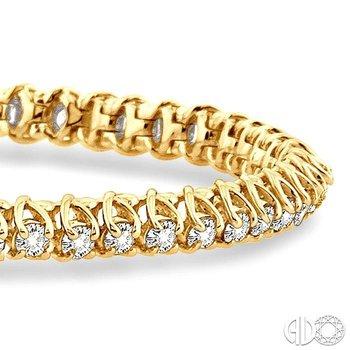 TULIP DIAMOND BRACELET