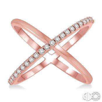 DIAMOND X RING