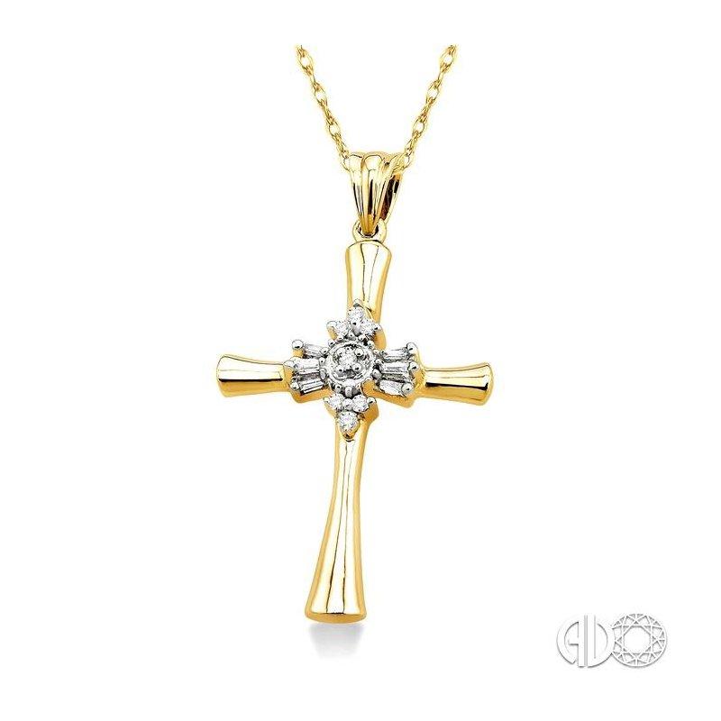 Lovebright Collection Jewelry DIAMOND CROSS PENDANT