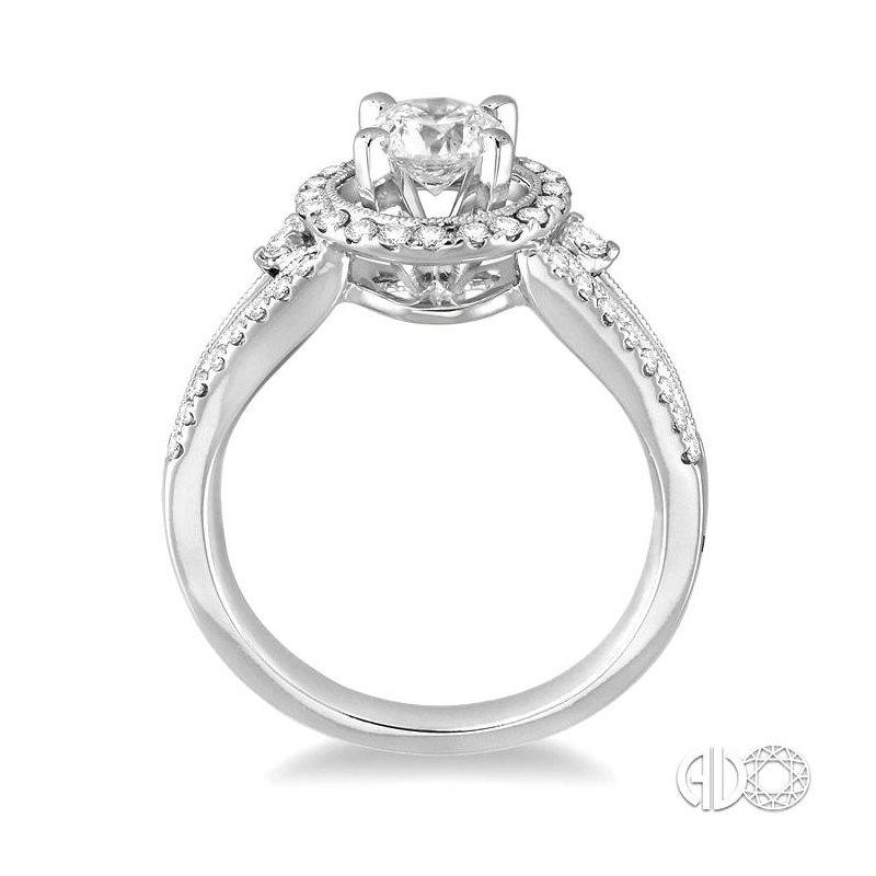 Lovebright Collection Jewelry SEMI-MOUNT DIAMOND RING