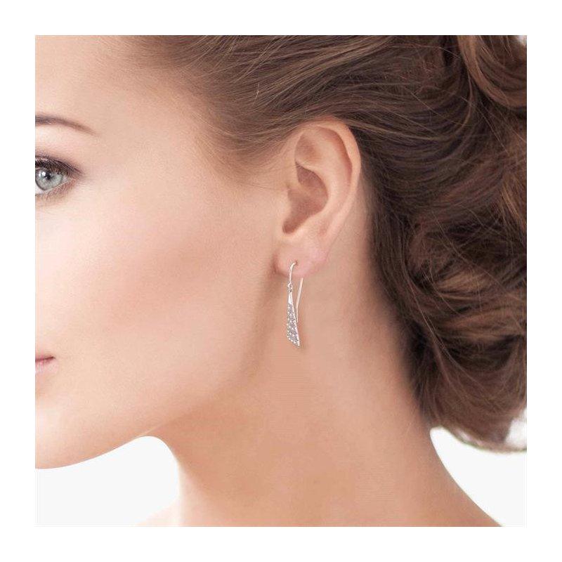 Lovebright Collection Jewelry DIAMOND CHEVRON EARRINGS