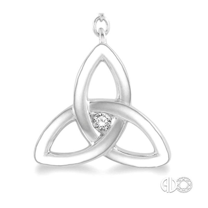 Lovebright Collection Jewelry DIAMOND CELTIC CHARM