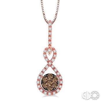CHAMPAGNE DIAMOND PENDANT