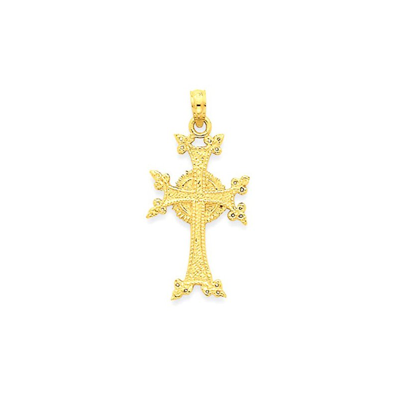 Lovebright Collection Jewelry 14k Celtic Cross Pendant
