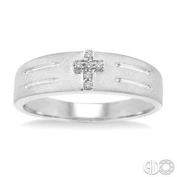 MEN'S DUO CROSS DIAMOND RING
