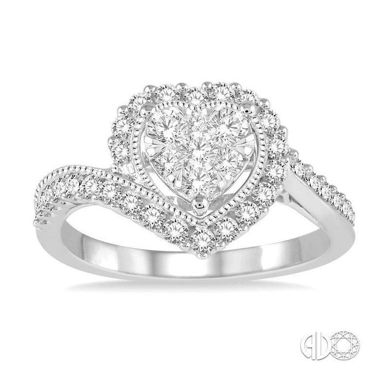 Lovebright Collection Jewelry HEART LOVEBRIGHT DIAMOND RING