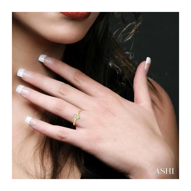Lovebright Collection Jewelry PEAR SHAPE DIAMOND PROMISE RING