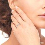 Lovebright Collection Jewelry FIVE STONE DIAMOND WEDDING BAND