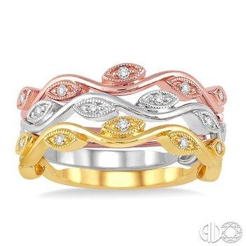 DIAMOND WEDDING BAND SET