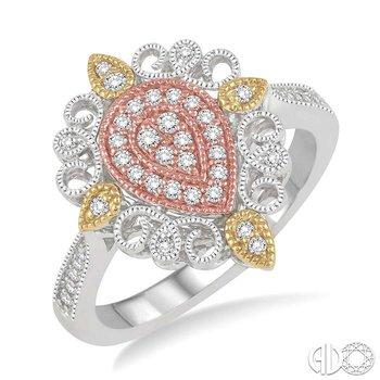 PEAR SHAPE DIAMOND RING