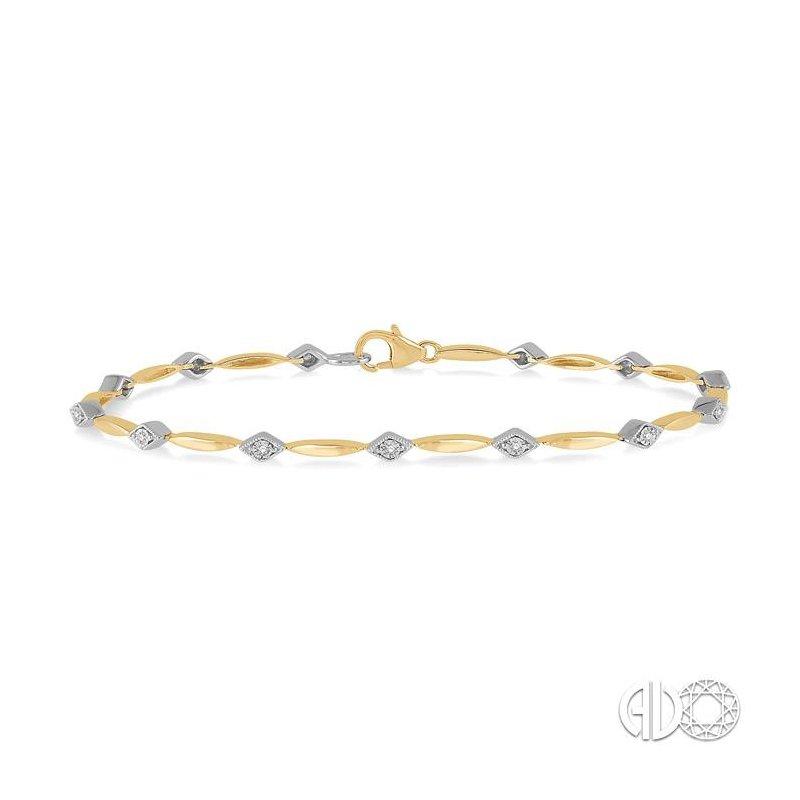 Lovebright Collection Jewelry DIAMOND ILLUSION PLATE BRACELET