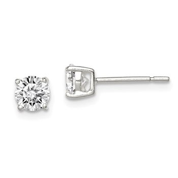 .25ct tw and 1.00ct tw CZ SS Studs