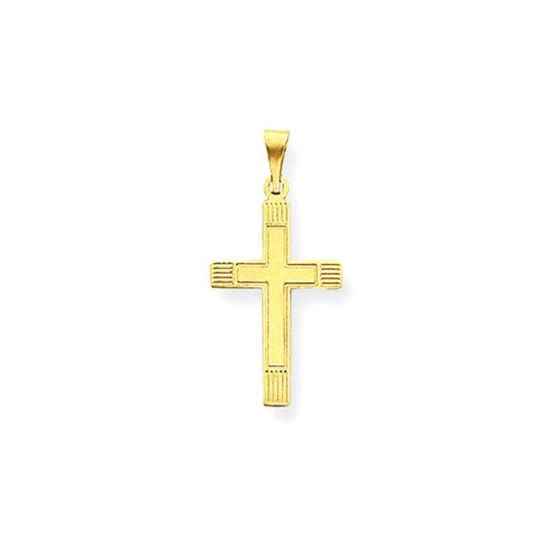 Lovebright Collection Jewelry 14k Cross Pendant