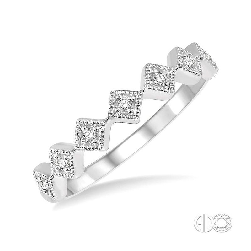 Lovebright Collection Jewelry STACKABLE DIAMOND BAND