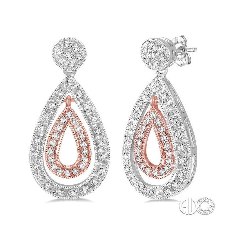 Lovebright Collection Jewelry PEAR SHAPE DIAMOND EARRINGS