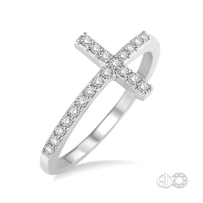 Lovebright Collection Jewelry DIAMOND CROSS RING