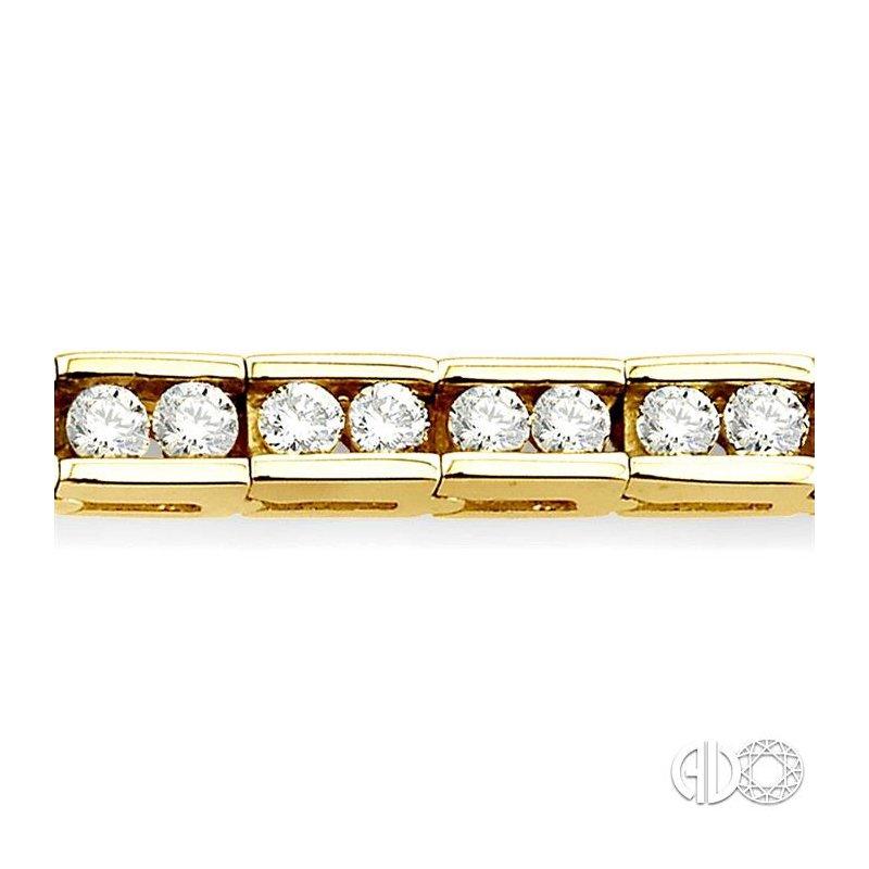 Lovebright Collection Jewelry CHANNEL SET DIAMOND BRACELET
