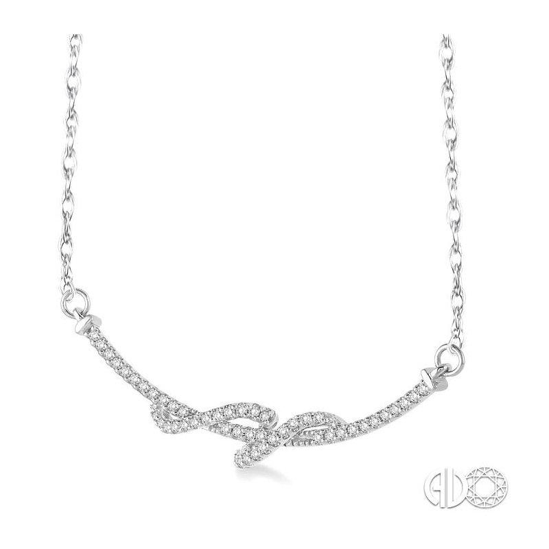 Lovebright Collection Jewelry SWIRL DIAMOND PENDANT