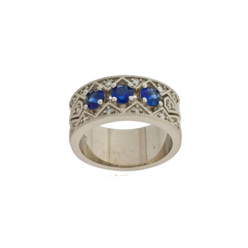 Customgold Sapphire Fashion Ring