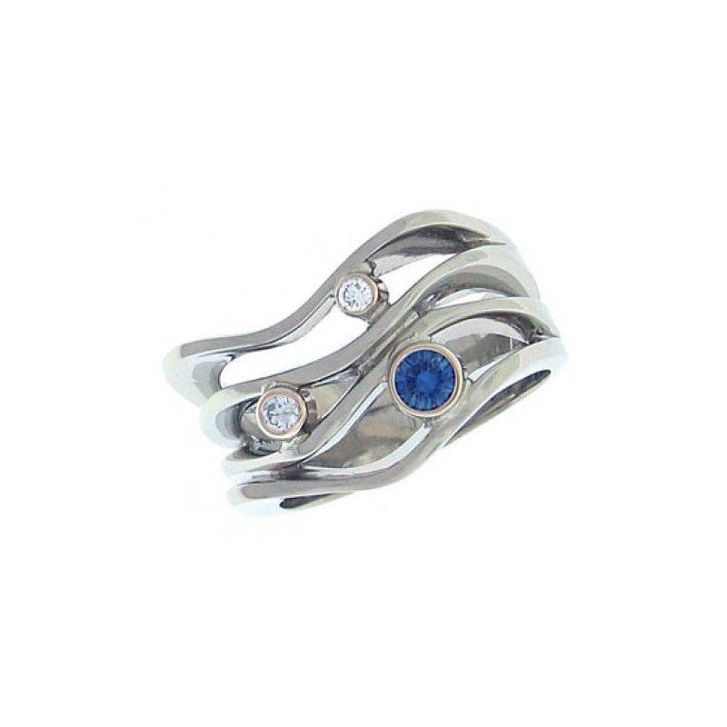 Customgold Sapphire Fashion Ring