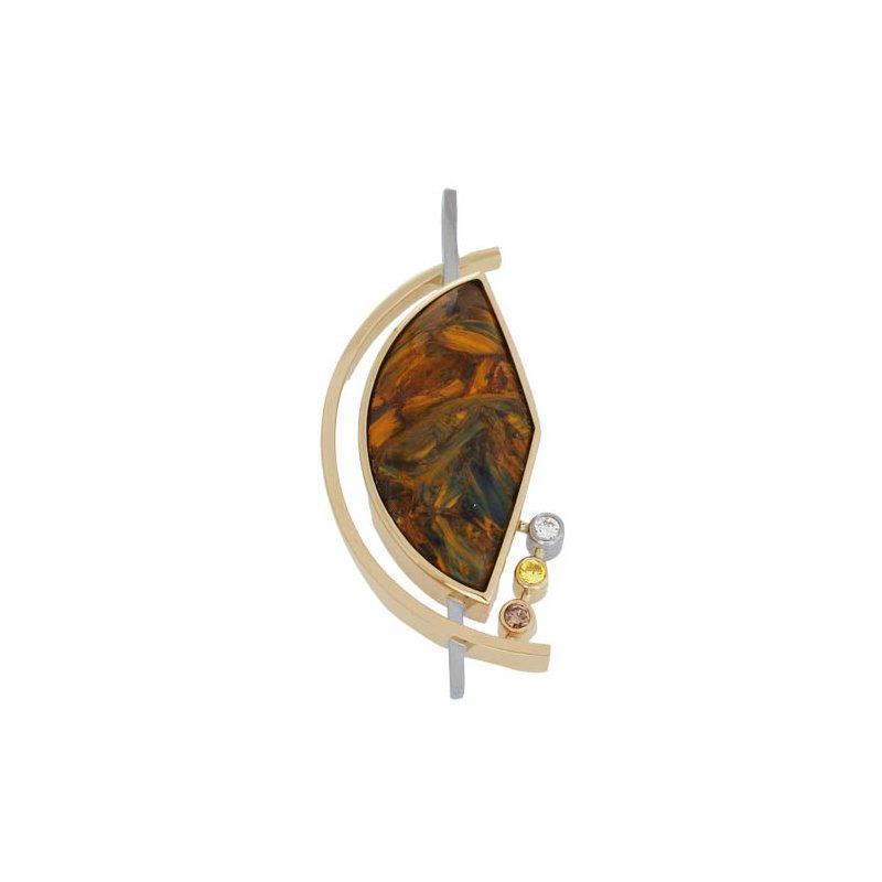 Customgold Agate Pendant