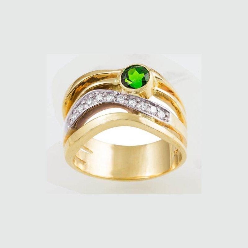 Customgold Diamond Fashion Ring