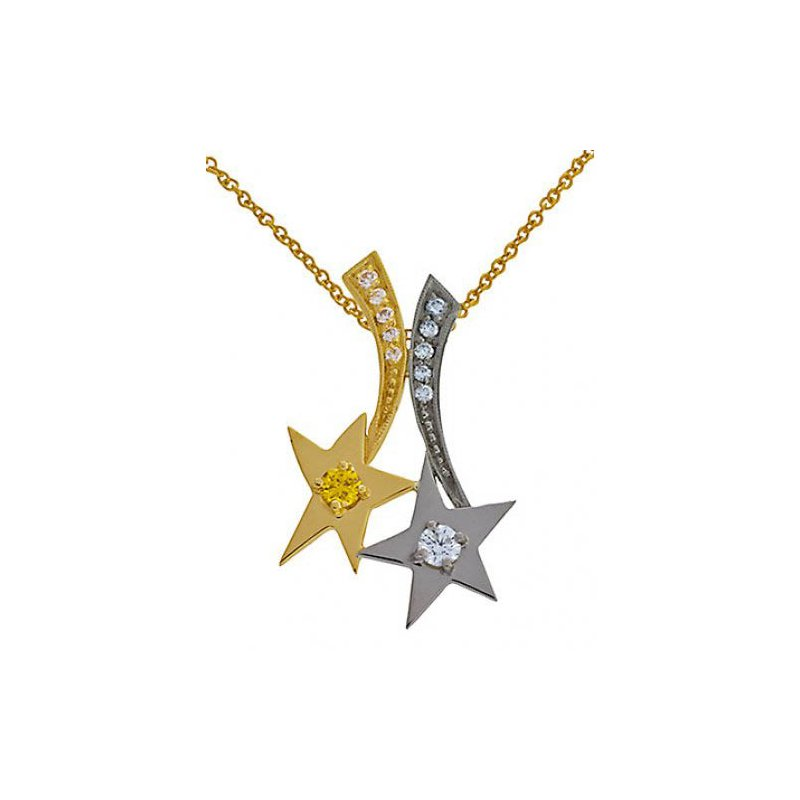 Customgold Shooting Stars Pendant
