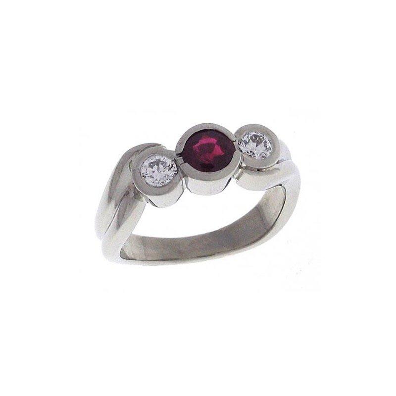 Customgold Ruby Fashion Ring