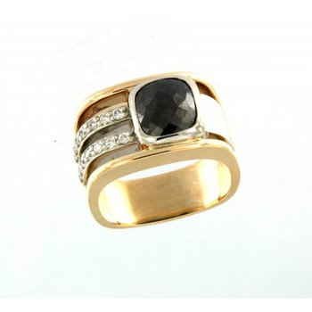 Men's Black Diamond Ring