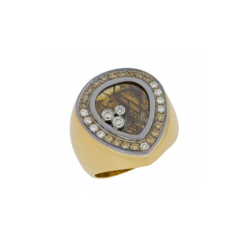 Customgold Men's Diamond Ring