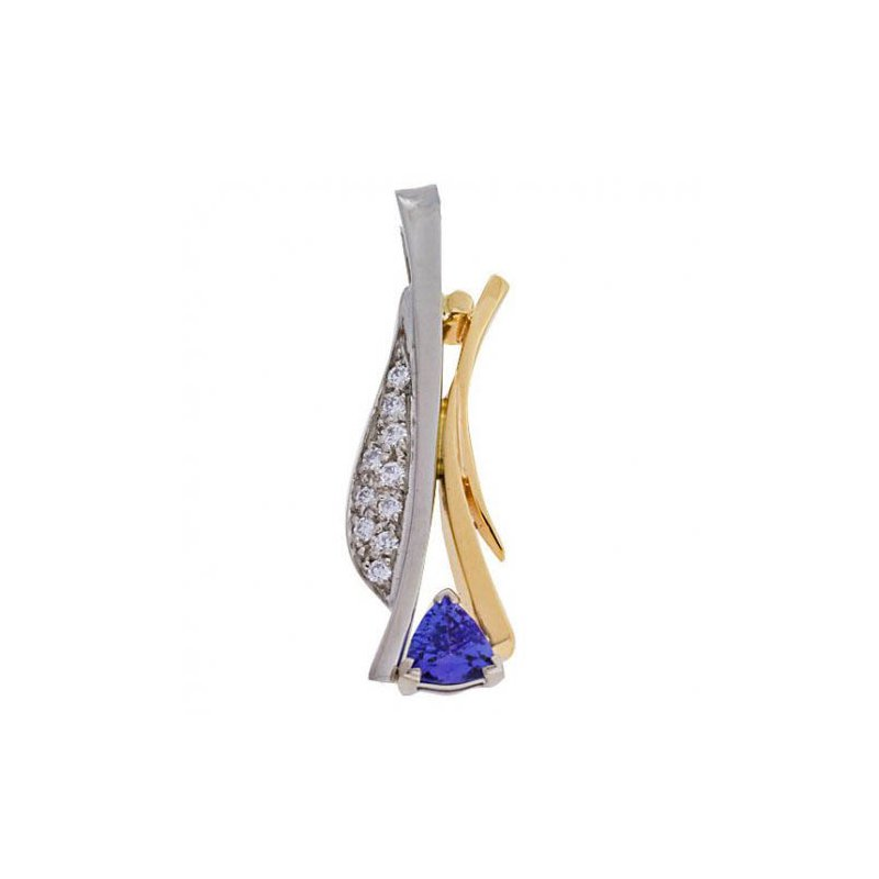 Customgold Tanzanite Pendant