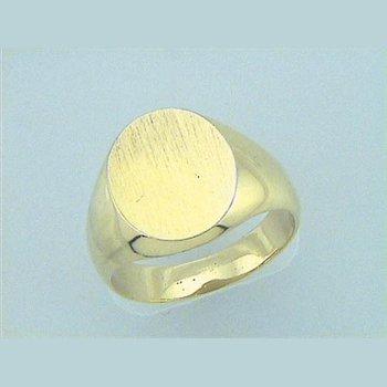 Men's Oval Signet Ring