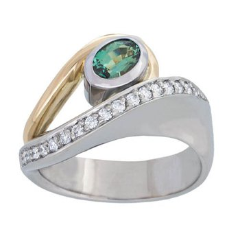 Alexandrite Fashion Ring