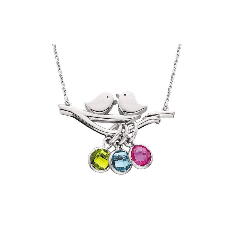 Berco Jewelry Love Birds Necklace