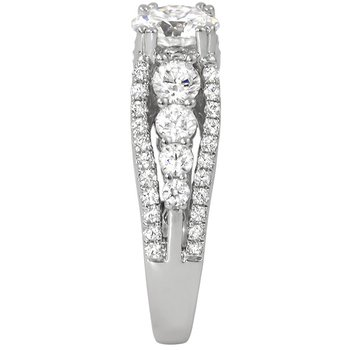A Modern Engagement Ring