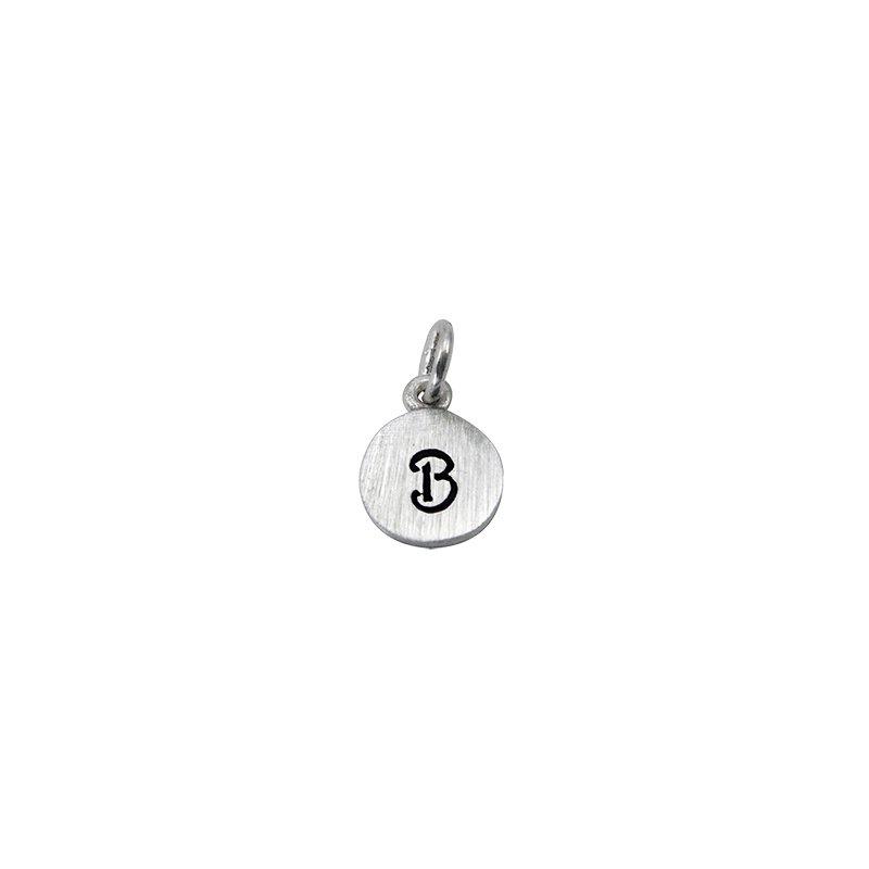 Berco Jewelry Initial 'B' Charm