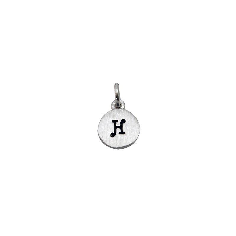 Berco Jewelry Initial 'H' Charm