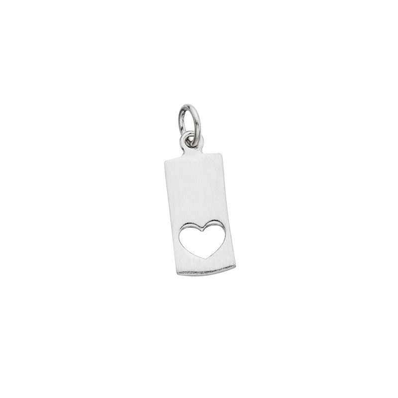 Berco Jewelry Cut Out Heart Charm