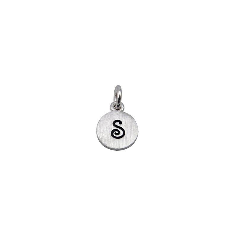 Berco Jewelry Initial 'S' Charm