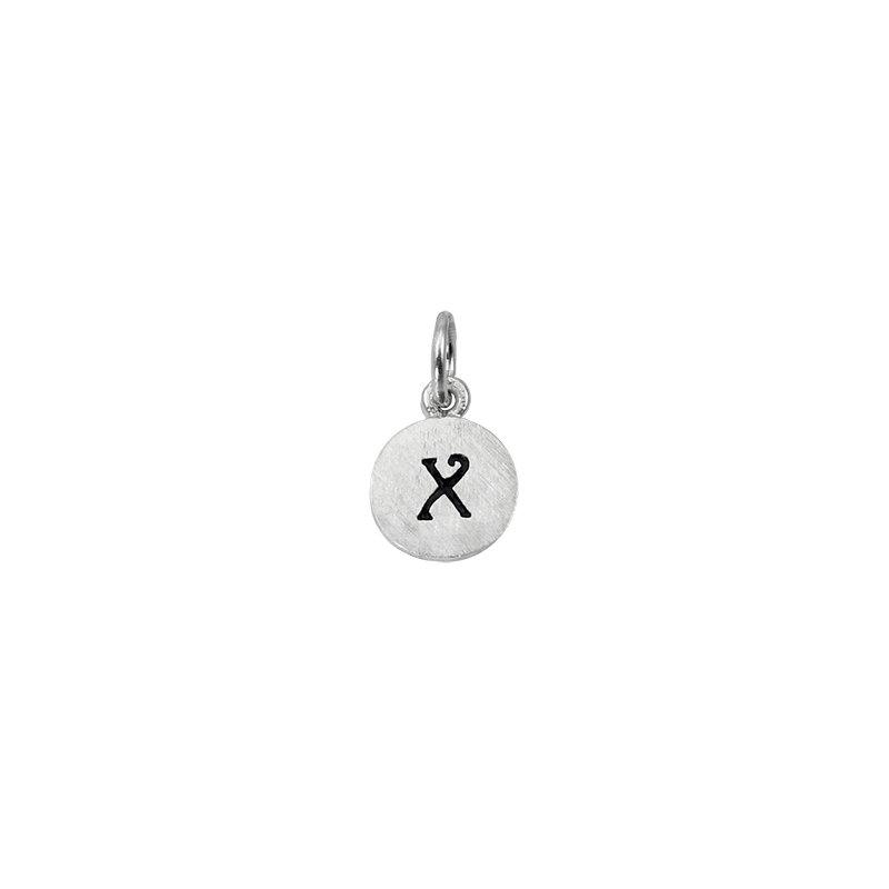 Berco Jewelry Initial 'X' Charm