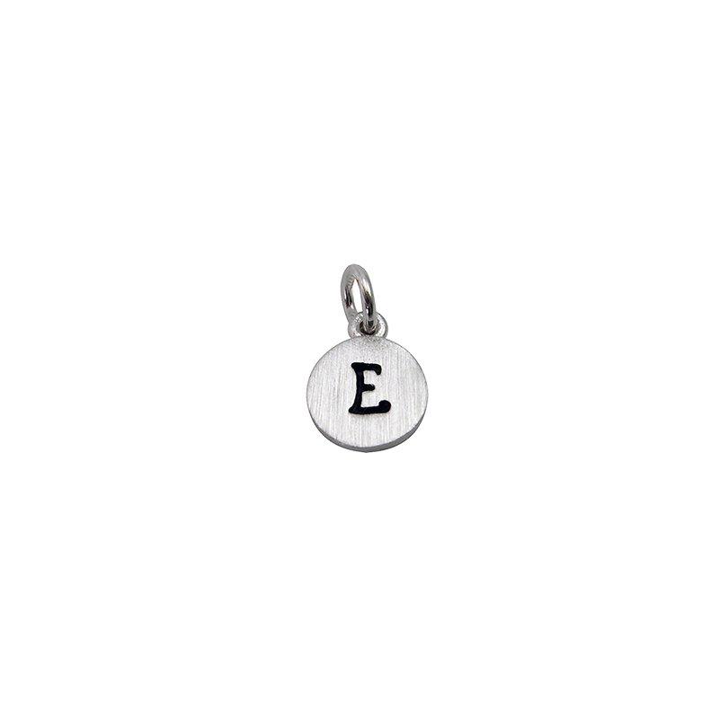 Berco Jewelry Initial 'E' Charm