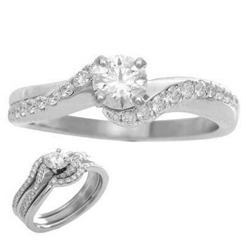Engagement Ring With Jacket