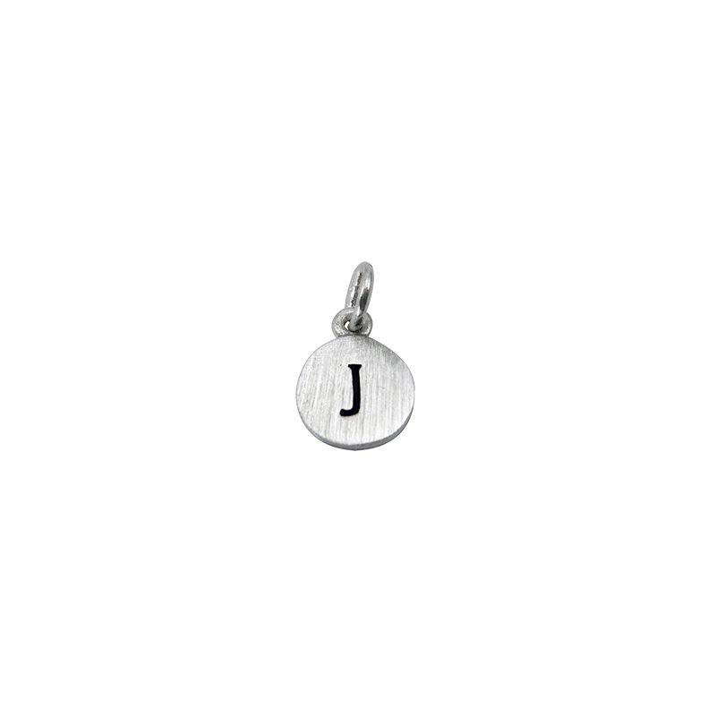 Berco Jewelry Initial 'J' Charm