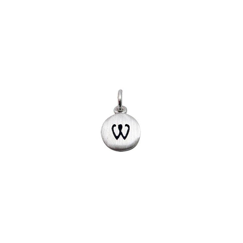 Berco Jewelry Initial 'W' Charm